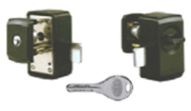 ピッキングや破壊に強い補助錠