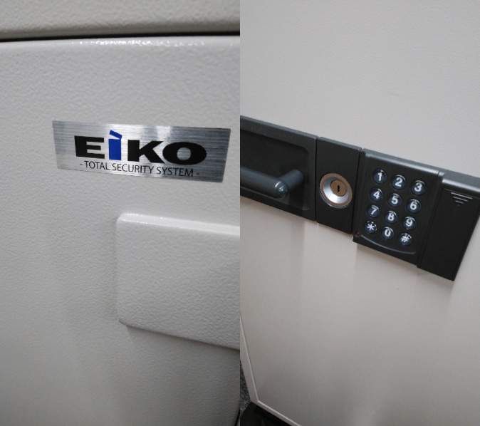 EIKO製テンキー金庫の鍵開け