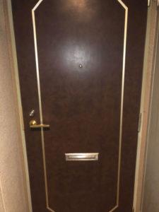アパート玄関鍵開け