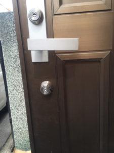 M様宅 玄関ドア鍵交換