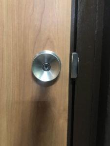 室内ドア鍵開け