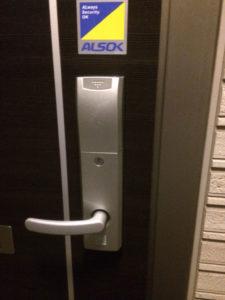 シャーロック錠カードキーの開錠