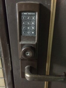 MIWAの10キーロックの開錠
