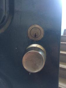 古い鍵の開錠
