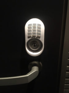 ショーワのテンキー開錠