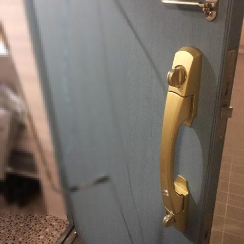 鍵開け実績|大阪府松原市 防犯サムターン開錠