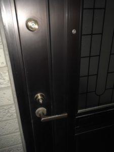 一戸建ての鍵開け