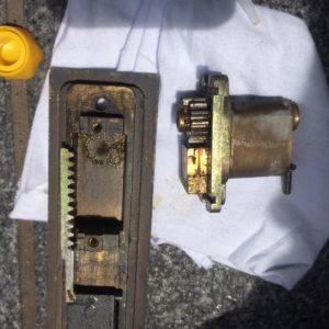 引き戸の鍵修理