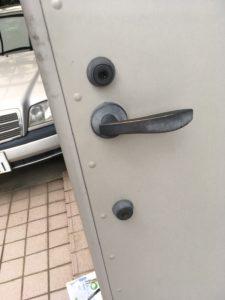 MIWAのディスクシリンダー鍵開錠