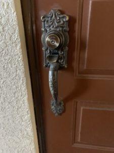 MIWAサムラッチ式鍵開錠