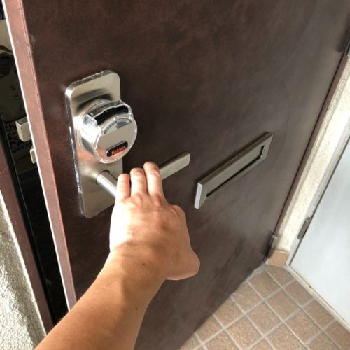 鍵開錠実績 | 大阪府大阪市 KEIDENカードキー開錠