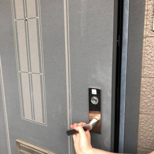 鍵開錠実績 | 大阪府吹田市 カバー付き防犯サムターン開錠