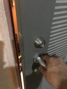MIWAのJNシリンダー開錠