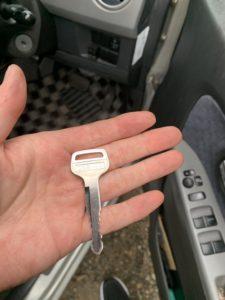 ワゴンR鍵作成