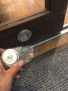 自動ドア鍵交換