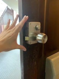 GOAL面付錠玄関鍵開け