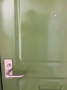 MIWA アパート玄関鍵開錠