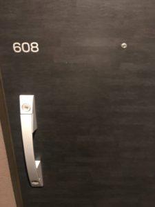 ホテル客室鍵交換