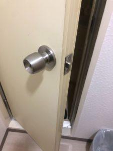トイレ鍵交換