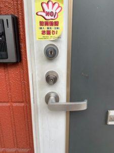 MIWA TE-03玄関ドア開錠