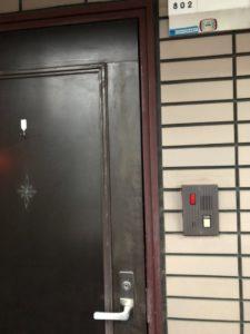 MIWA H248マンション鍵開錠